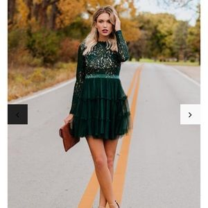 VICI Lace Tulle Dress